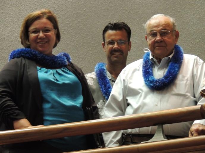 Nobriga family. Photo courtesy Maui Senate Communications.