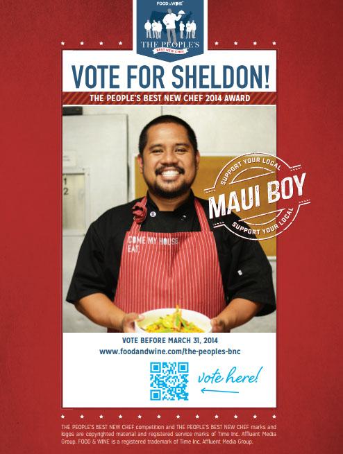 Chef Sheldon. Courtesy photo.