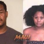 Dane Nakama (left) and Kayzia Washington (right). Photos courtesy Maui Police.