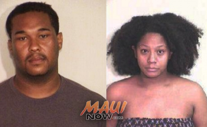 Dane Nakama (left) and Kayzia Washington (right). Photos courtesy Maui Police.