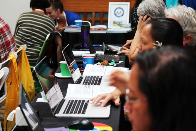 Google workshop on Maui, photo by Wendy Osher.