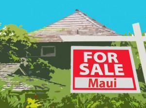 Maui home sales. Maui Now image.