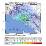 Map of 4.4 Los Angeles earthquake, courtesy USGS/contributed by Southern California Seismic Network, Caltech, USGS Pasadena, and Partners.