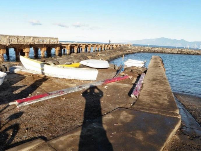 Māla Wharf, photo courtesy DLNR.