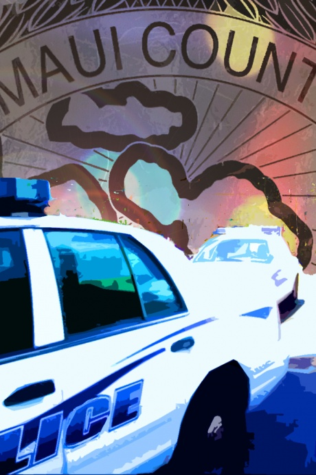 Maui Police crime graphic by Wendy Osher.
