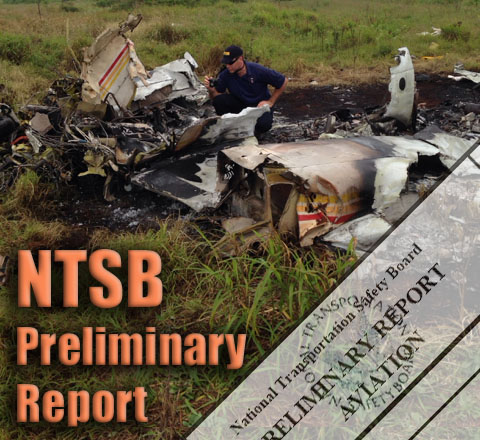 NTSB prelminary report. Graphics by Wendy Osher. Background image courtesy NTSB.