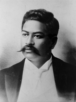 Prince Kuhio. Photo courtesy Paukukalo Hawaiian Homes event flyer.