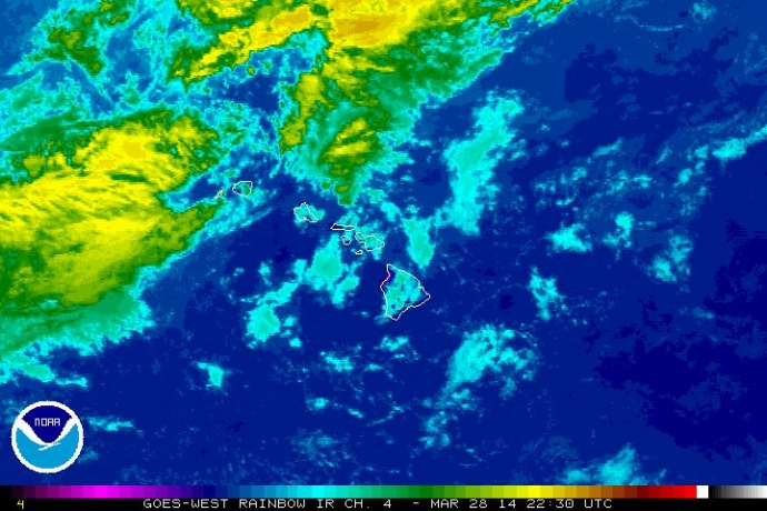 March 28 satellite imagery, courtesy NOAA/NWS.