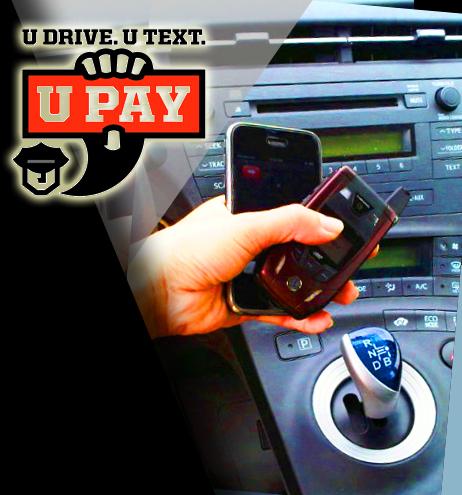 Image result for U drive, U text, U pay