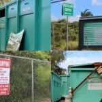 Waiehu Recycling Center. Photo by Wendy Osher.