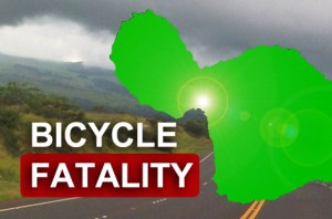 Bicycle fatality. Graphic by Wendy Osher/ Maui Now.