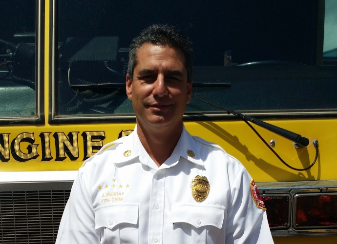 Chief Jeffrey Murray. Courtesy Photo, Maui Department of Fire and Public Safety.