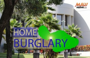 Home burglary graphic by Wendy Osher/ Maui Now.