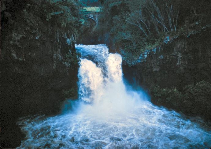 ʻOheʻo Gulch in East Maui region of Kīpahulu. Photo courtesy Haleakalā National Park.