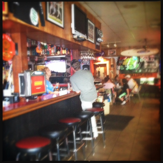 The Sports Page Grill & Bar will vacate its current location next week. Photo by Vanessa Wolf