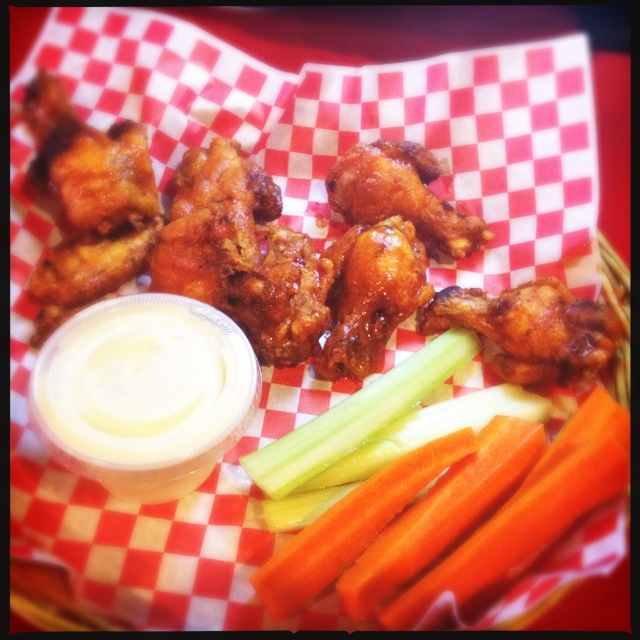 The Sports Page's  Chicken Wings. Photo by Vanessa Wolf