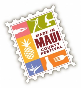 Made In Maui County Festival logo.