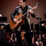 Makana Performing with University Symphony Orchestra