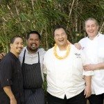 Chefs Luckey, Simeon, Pang and Faivre. Courtesy image