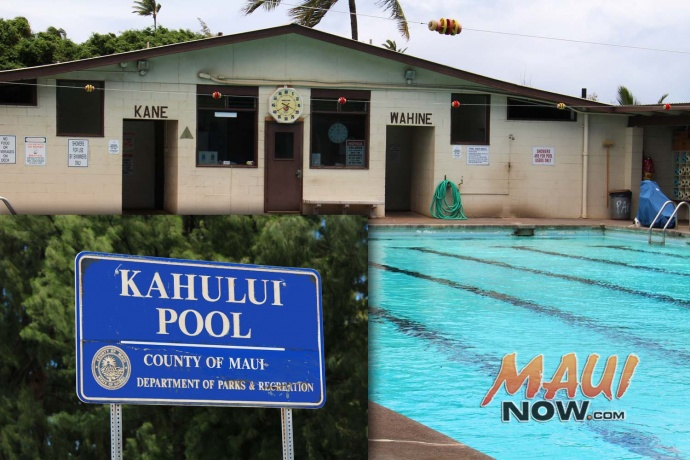 Kahului Pool, photos/graphic by Wendy Osher.
