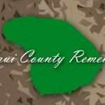 Maui County Remembers. Maui Now image.