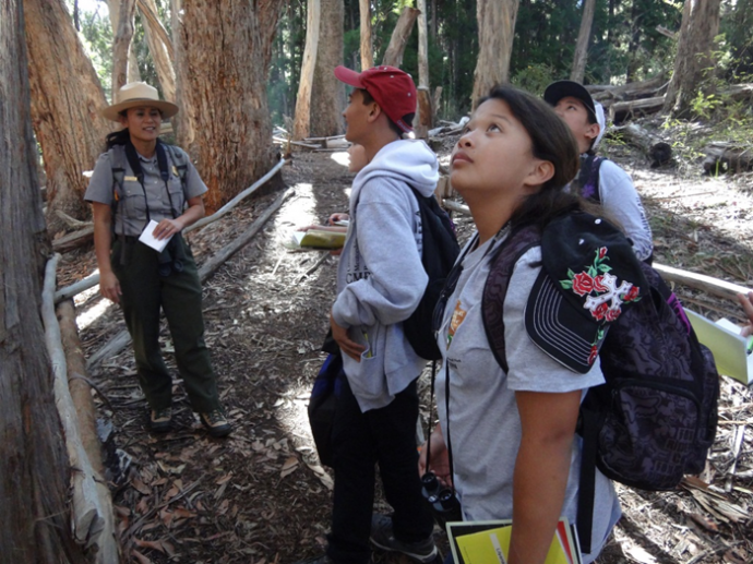 Ranger hike, file photo courtesy Haleakalā National Park.