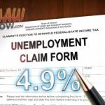Unemployment. Maui Now image.