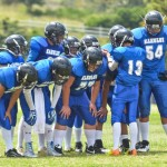 Kahului Falcons' offense dominated Kihei Saturday, en route to a lopsided 46-6 victory. Photo by Rodney S. Yap.
