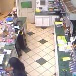Blackies Pit Stop Robbery, Kīhei. Surveillance photo.