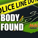 Body Found, Molokaʻi. Maui Now graphic.