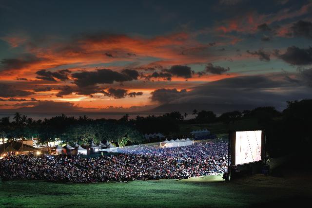 Celestial Cinema.  Photo Credit : Provided by Maui Film Festival.