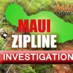 Maui Zipline incident.  Maui Now graphic.