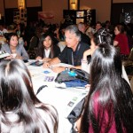 "Hawaii STEM Conference's popular ""5x5"" event offered a high energy networking session featuring over 30 local STEM professionals and 350 STEMworks students."
