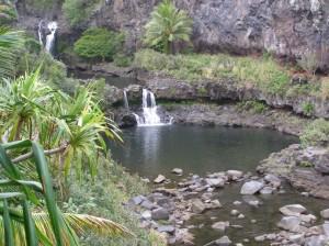 Pool at ʻOheʻo Gulch. Image courtesy Haleakalā National Park.