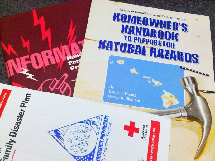 Maui Emergency Preparedness Class, Jan. 25