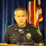 Maui Police Chief Gary Yabuta, photo by Wendy Osher.