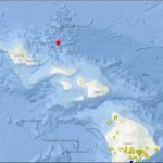 No Advisories After 3.5 Earthquake in Waters North of Molokaʻi