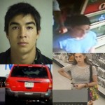 Kmart alleged theft. Photos courtesy Crime Stoppers.