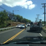 Rollover Accident in Māʻalaea, Expect Delays