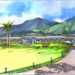 West Maui Hospital and Medical Center. Project rendering.
