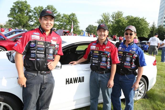 2014 Ford/AAA Student Auto Skills Competition, photo courtesy AAA Hawaiʻi.