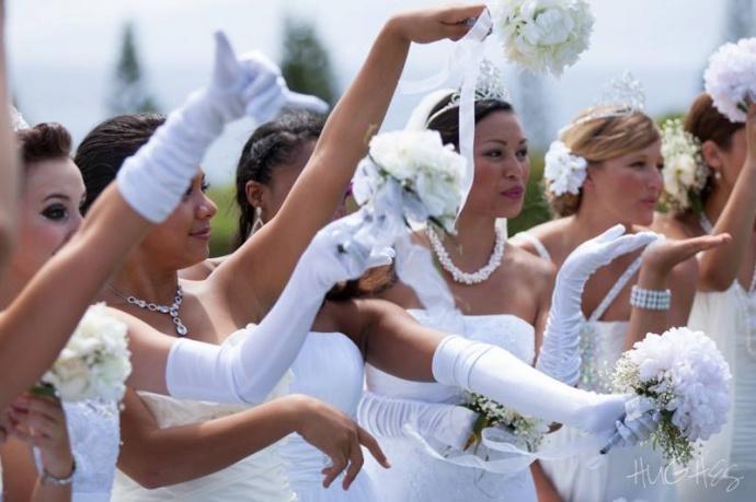 Photo courtesy: Tambara Garrick, President Maui Wedding Association.