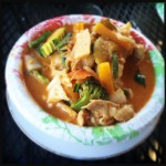 The Red Curry with Chicken. Photo by Vanessa Wolf