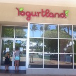 Yogurtland in Kalului closes its doors.  Photo by Jack Dugan.