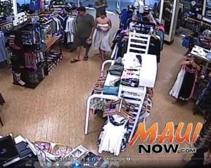 Surveillance photo, courtesy Maui Police.