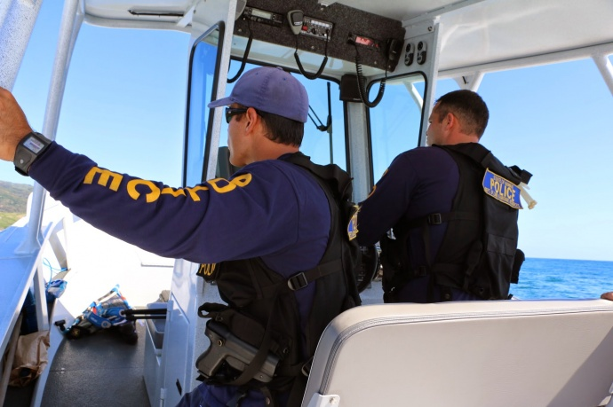 CFEU officers. Photo courtesy state Department of Land and Natural Resources.