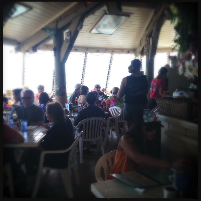 The interior of the ever-packed restaurant. Photo by Vanessa Wolf