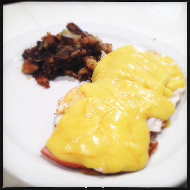 Eggs Benedict done right. Photo by Vanessa Wolf