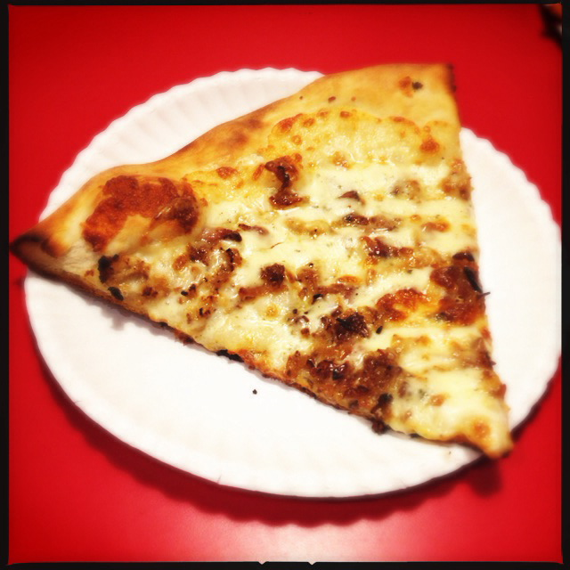 The Bacon, Ranch slice. Photo by Vanessa Wolf