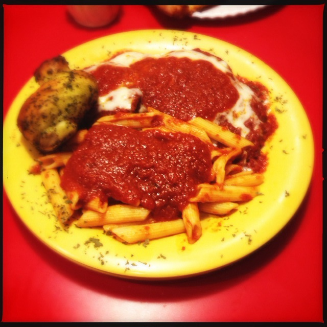 The Eggplant Parmagiana. Photo by Vanessa WOlf